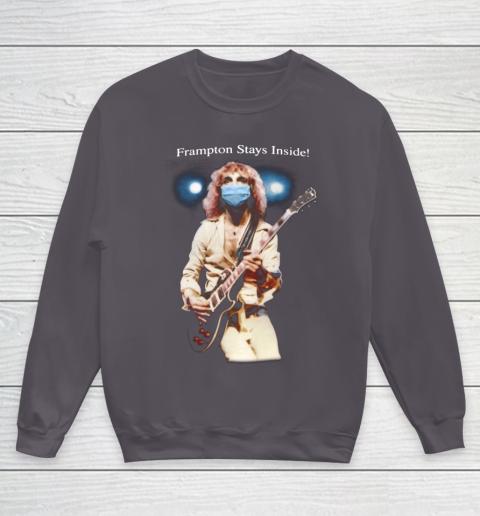 Peter Frampton Covid Stays Inside Youth Sweatshirt 5
