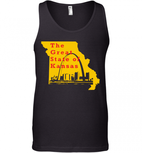 The Great State Of Kansas Trump Tank Top