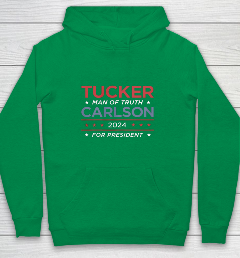 Vote For Tucker Carlson 2024 Presidential Election Campaign Youth Hoodie 4
