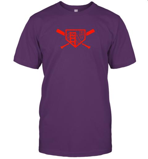 yuvv cool san francisco baseball the city bridge sfo jersey t shirt 60 front team purple