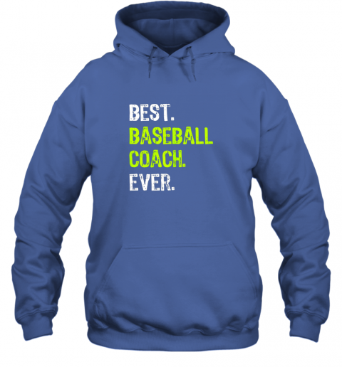 ldrm best baseball coach ever funny gift hoodie 23 front royal
