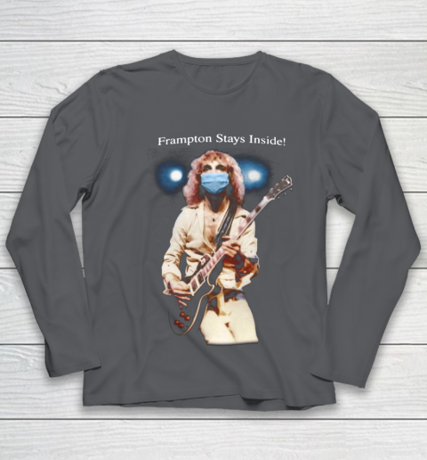 Peter Frampton Covid Stays Inside Youth Long Sleeve 6