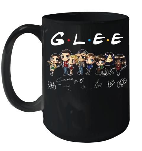 Glee Characters Chibi Signatures Ceramic Mug 15oz