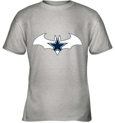 We Are The Dallas Cowboys Batman NFL Mashup Youth T-Shirt