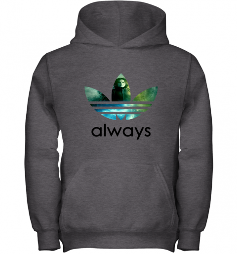 mxu8 adidas severus snape always harry potter shirts youth hoodie 43 front dark heather
