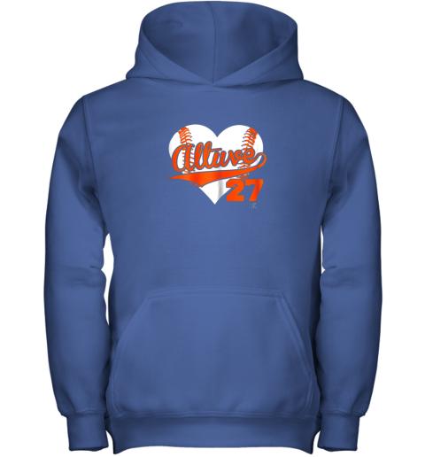 b57l jose altuve baseball heart shirtapparel youth hoodie 43 front royal