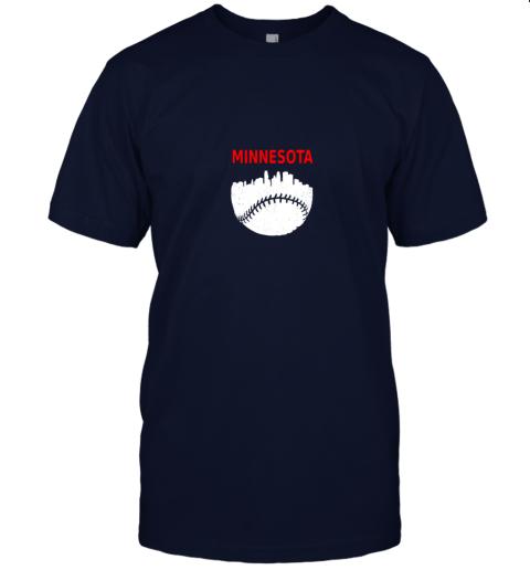 srgr retro minnesota baseball minneapolis cityscape vintage shirt jersey t shirt 60 front navy