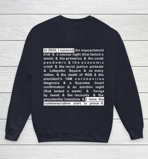 Jim Acosta Youth Sweatshirt 10