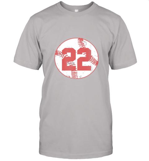 v773 womens vintage baseball number 22 shirt cool softball mom gift jersey t shirt 60 front ash