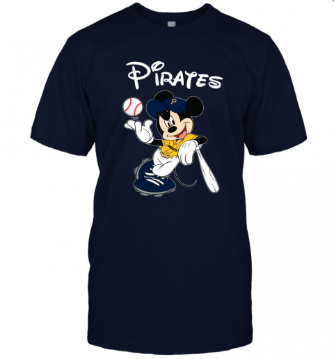 Baseball Mickey Team Pittsburgh Pirates Unisex Jersey Tee