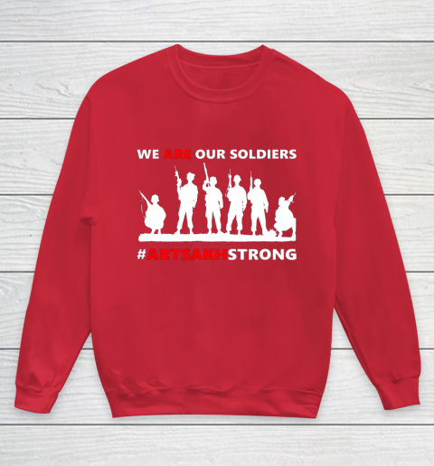 We Are Our Soldiers Youth Sweatshirt 7