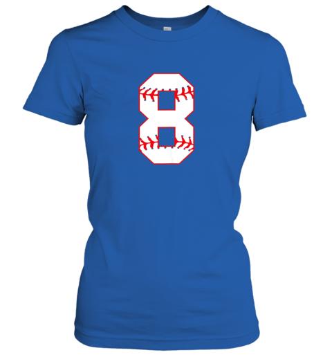 q05u cute eighth birthday party 8th baseball shirt born 2011 ladies t shirt 20 front royal