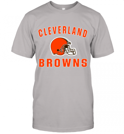 6lfm cleveland browns nfl line by fanatics branded brown victory jersey t shirt 60 front ash