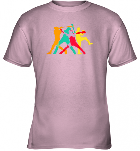 uth4 vintage baseball shirt gifts youth t shirt 26 front light pink
