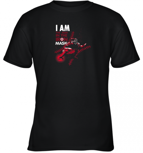 I Am The Man In The Iron Mask Baseball Catcher Youth T-Shirt