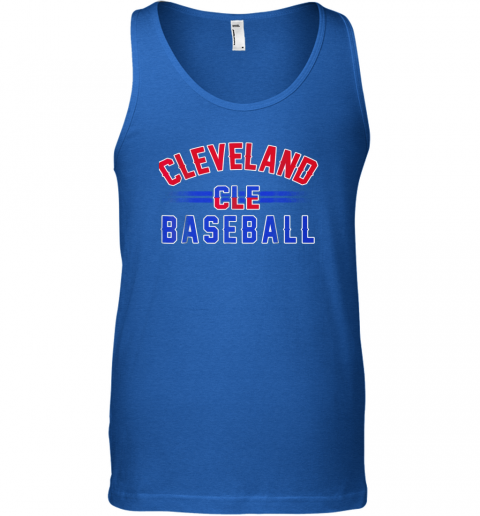 ndpp cleveland cle baseball unisex tank 17 front royal