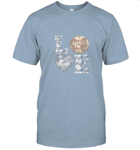 jwxh baseball distressed ball cute dad mom love gift jersey t shirt 60 front light blue