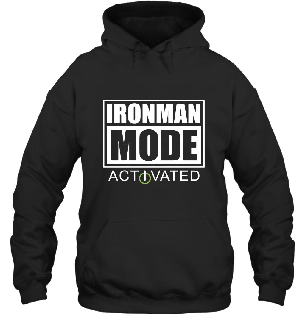 Triathlon Ironman Mode Activated Hoodie