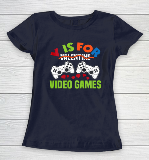 Funny Video Games Lover Valentine Day Women's T-Shirt 2