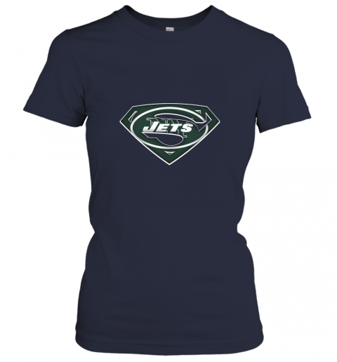 0p6d we are undefeatable the new york jets x superman nfl ladies t shirt 20 front navy