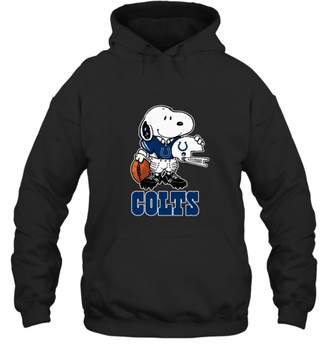 Snoopy A Strong And Proud Indianapolis Colts NFL Hoodie