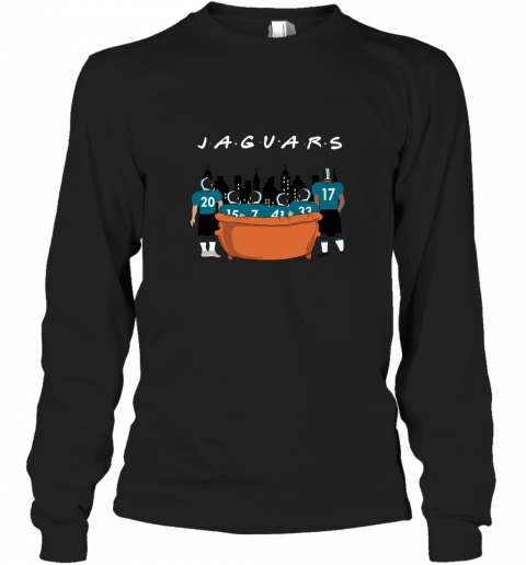 Jacksonville Jaguars Together F.R.I.E.N.D.S NFL Long Sleeve T-Shirt