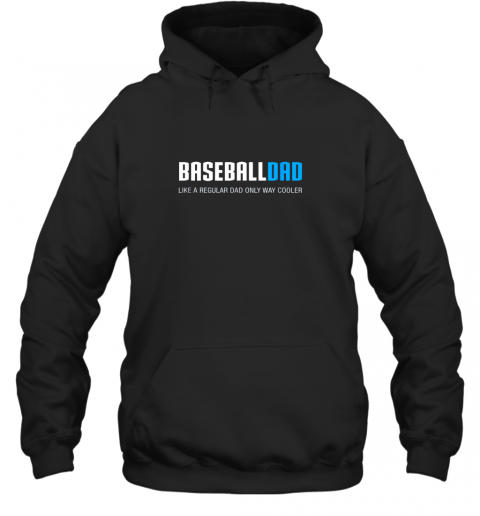 Mens Baseball Dad Shirt, Funny Cute Father's Day Gift Hoodie