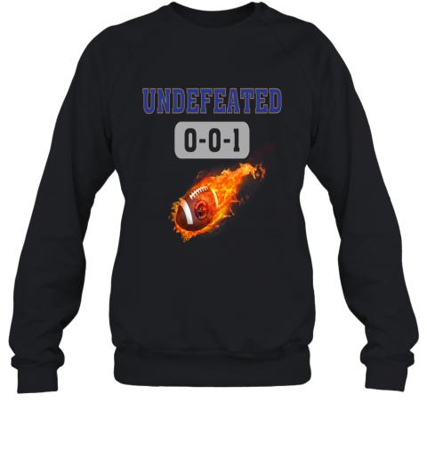 NFL BALTIMORE RAVENS Logo Undefeated Sweatshirt