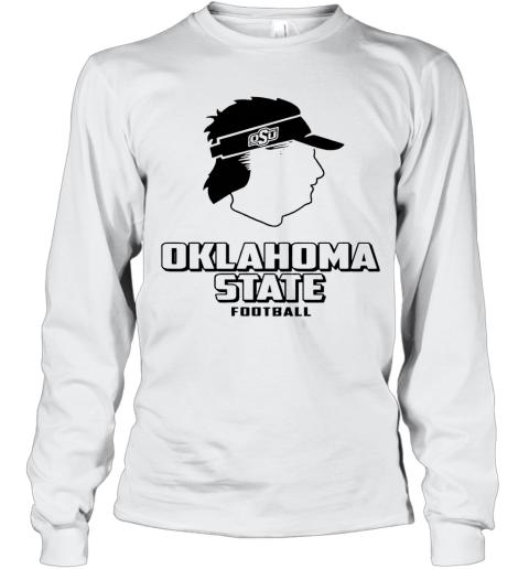Oklahoma State Football OSU Mike Gundy Long Sleeve T-Shirt