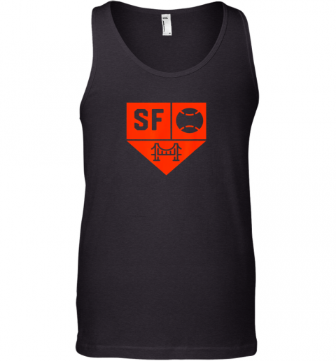 San Francisco Baseball Forever California State Tank Top