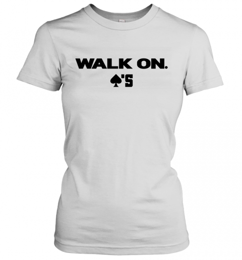 baker mayfield walk on Women's T-Shirt