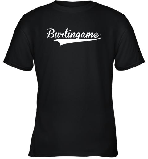 BURLINGAME Baseball Softball Styled Youth T-Shirt