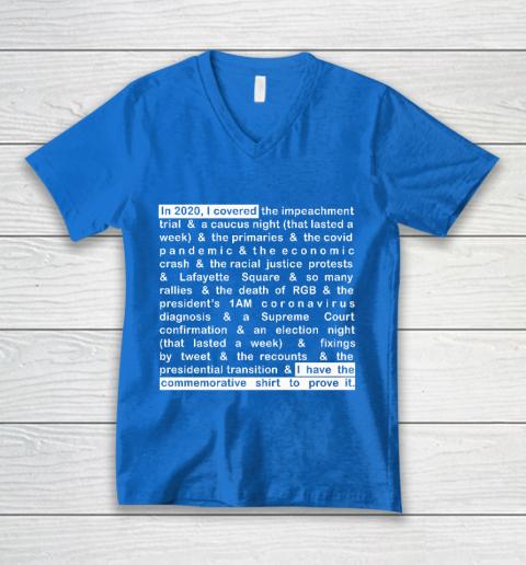 Jim Acosta V-Neck T-Shirt 5