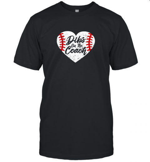 Dibs On The Coach Funny Baseball Unisex Jersey Tee