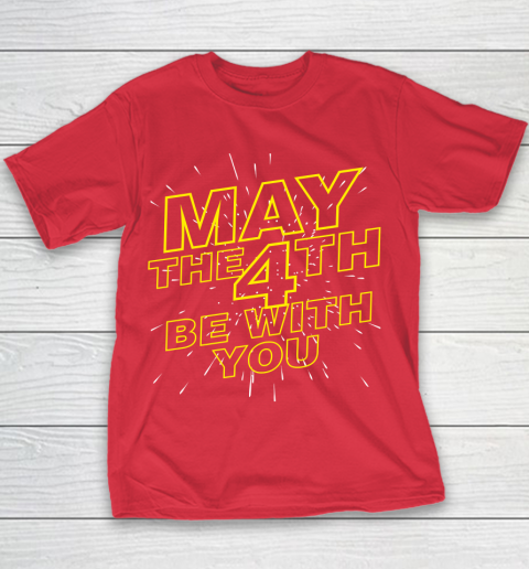 May the 4th be with you Star Wars Youth T-Shirt 7