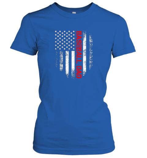 ktrn vintage usa american flag proud baseball dad player ladies t shirt 20 front royal