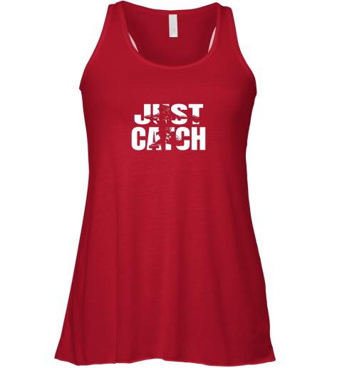 kk8y just catch baseball catchers gear shirt baseballin gift flowy tank 32 front red