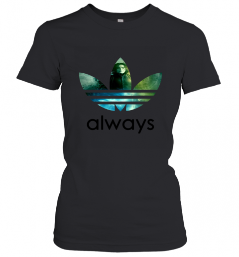 x4vk adidas severus snape always harry potter shirts ladies t shirt 20 front black
