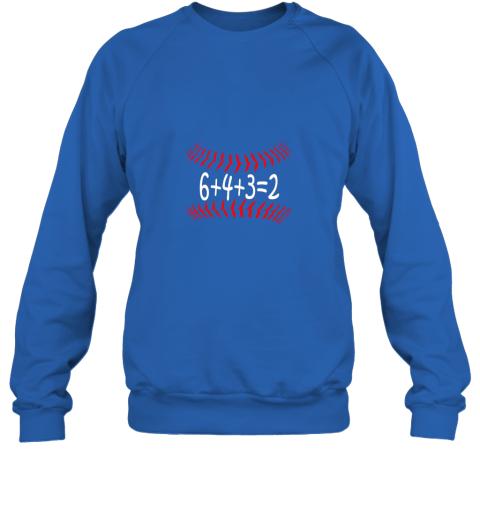 jxkr funny baseball 6432 double play shirt i gift 6 4 32 math sweatshirt 35 front royal