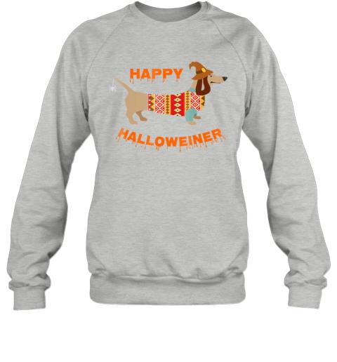 Halloween Weiner Daschund Sweatshirt