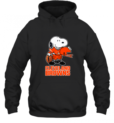 Snoopy A Strong And Proud Cleveland Browns NFL Hoodie