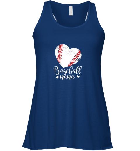 yh2u funny baseball nana shirt gift for men women flowy tank 32 front true royal