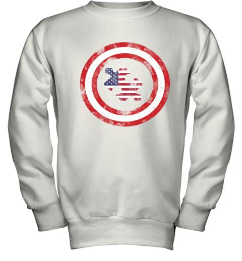 Captain America Autism Youth Sweatshirt