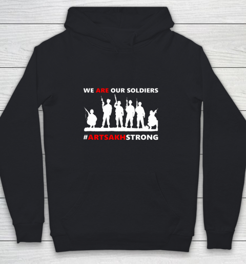 We Are Our Soldiers Youth Hoodie