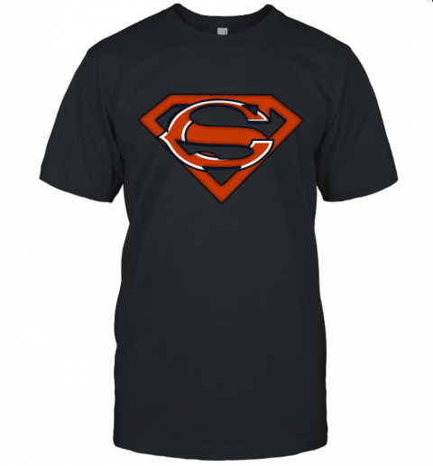 We Are Undefeatable The Chicago Bears x Superman NFL Unisex Jersey Tee
