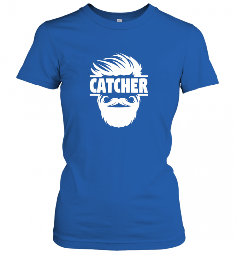 lswh bearded baseball catcher ladies t shirt 20 front royal