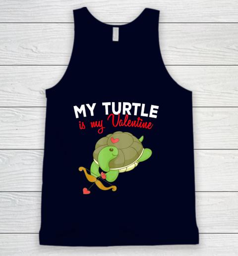 Turtle Valentine T Shirt Sea Turtle Cupid Valentines Day Tank Top 2