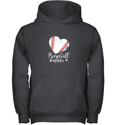Funny Baseball Nana Shirt Gift For Men Women Youth Hoodie