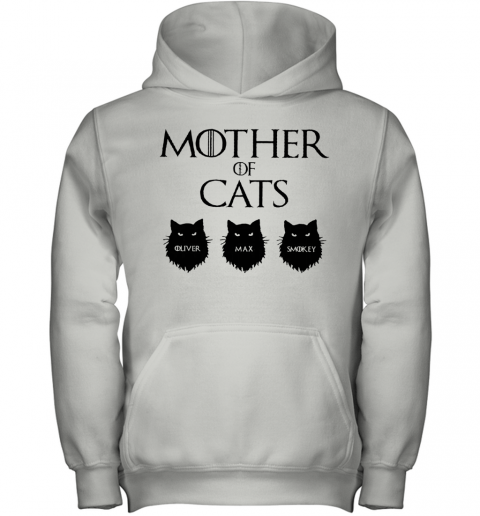 Mother Of Cats GOT Personalized Youth Hoodie