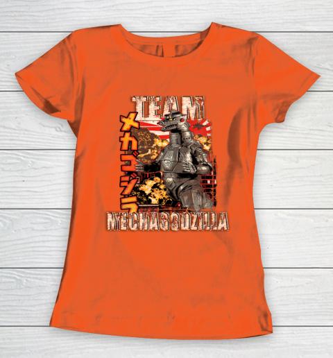 Team Mechagodzilla Japan Vintage Style Women's T-Shirt 3
